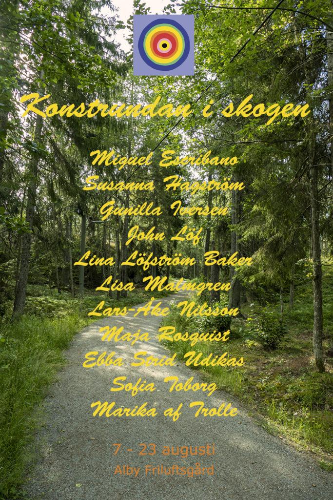 Konstrundan i Skogen 2020